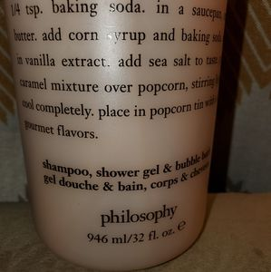 Philosophy Other - NEW PHILOSOPHY CARAMEL DRIZZLE 32 OZ SHAMPOO, BODY
